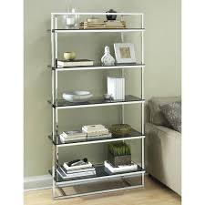 Bookcases With Glass Shelves Bookcase Metal Bookcase With Glass Shelves Metal Bookcase With