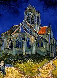 van gogh l eglise d auvers sur oise the church of auvers on