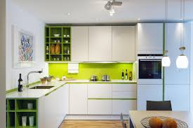 Green Kitchen Designs by Contemporary Kitchen Design Kitchens With A Pop Of Color Studio
