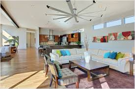 install a mid century modern ceiling fan that will give both