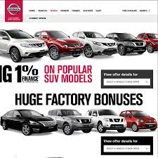 nissan car models 1 finance deal on brand new nissan cars ozbargain