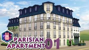 French Apartments The Sims 3 Speed Build Parisian Apartment No 01 Youtube