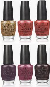 opi skyfall james bond 50th anniversary collection for holiday