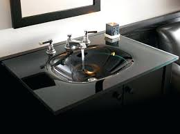 glass sinks bathroomideal para modern bathroom glass double sink