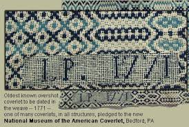 Colonial Coverlets America In 1771 Elec Intro Website