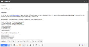 10 email templates for book bloggers book bumblings