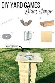 backyard jenga size home outdoor decoration