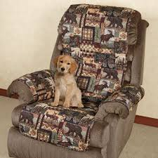 Quilted Recliner Covers Lodge Quilted Microfiber Pet Furniture Covers