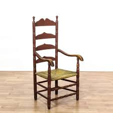 Antique Accent Chair Ladder Back Spindle Chairs Outstanding This Rustic Antique Accent