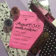 box of makeup sent monthly makeup vidalondon