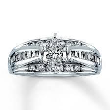 marquise diamond engagement rings kay diamond engagement ring 1 ct tw marquise cut 14k white gold