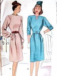 keyhole neck dress pattern 2 neckline styles mccall patterns 6320