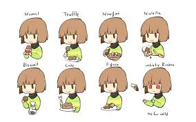 Chocolate Meme - chara and chocolate undertale know your meme
