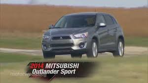 mitsubishi outlander sport 2014 motorweek long term update 2014 mitsubishi outlander sport