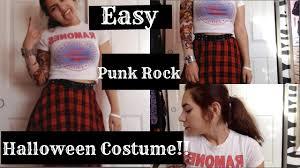 punk rock halloween costume ideas easy punk rock halloween costume youtube