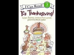 it s thanksgiving children s read aloud