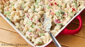 pasta salad recipes cold chicken macaroni salad i heart recipes
