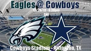 philadelphia eagles 9 6 vs dallas cowboys 8 7