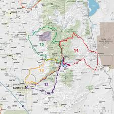 Nevada City Map Usrt022 Scenic Road Trips Map Of Southern California And