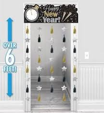 New Years Eve Decorations Melbourne by Black Silver U0026 Gold Foil Chandelier Party City Canada New