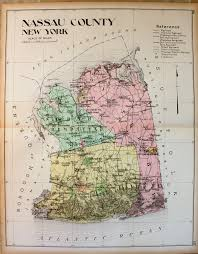 New York Counties Map Nassau County New York Antique Maps And Charts U2013 Original
