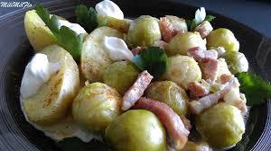 cuisiner des choux de bruxelles choux de bruxelles et lardons au multicuiseur philips mélimélflo