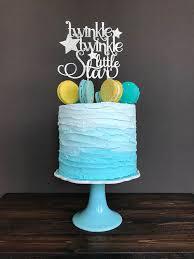 twinkle twinkle cake topper twinkle twinkle cake topper gender reveal cake