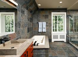 slate bathroom ideas slate bathroom tile bathroom traditional with beige black