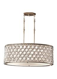 3 Light Kitchen Island Pendant by Feiss Lucia 3 Light 32