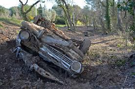 rust in peace opel kadett b ran when parked