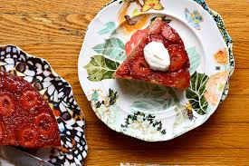 strawberry upside down cake with cardamom joy the baker