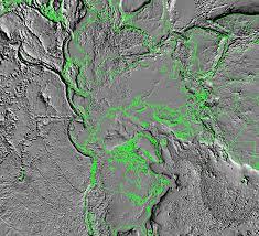 North Pole Map Nasa Visible Earth Tectonic Map Of North Pole