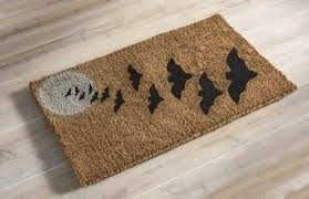 gather thanksgiving doormat painted coir outdoor rug