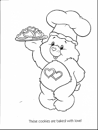 terrific care bears printable coloring pages with care bear