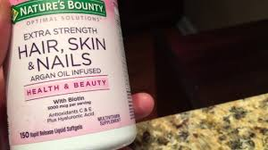 hair skin and nails supplement review youtube