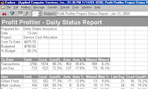 Project Daily Status Report Template Excel by Overview Of Web Based Performance Measurement Software For