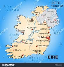 Dublin Ireland Map Map Of Iteland Key West Florida Map