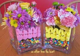 how to make centerpieces how to make a peep centerpiece for easter an affair from the heart