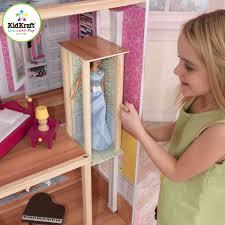 Doll House Furniture Ideas Decorating Pretty Kidkraft Majestic Mansion Dollhouse 65252 Made