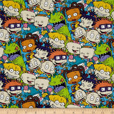90 S Decor Nickelodeon 90 U0027s Rugrats Packed Characters Multi Discount