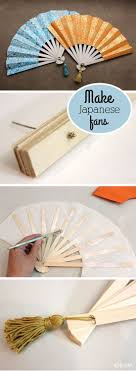 diy fans how to make japanese fans diy paper crafts sad to happy project