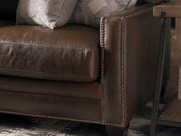 How To Choose A Leather Sofa Beautiful Nail Trim Detailing In The Custom Leather Ladson Great