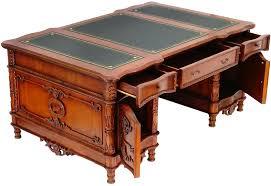 bureau en anglais bureau ambassadeur style anglais acajou caister meuble de style
