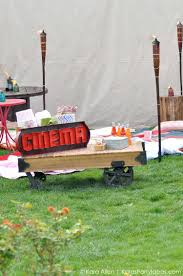 backyard summer movie party tiki articles u0026 videos