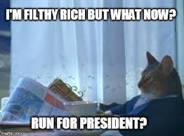 Rich Cat Meme - i should buy a boat cat meme imgflip