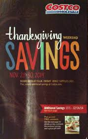 costco us thanksgiving weekend coupon book november 28 30 2014