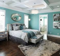 Turquoise Bedroom Ideas Bedrooms Awesome Design Room With Grey Sofa And Turquoise Walls