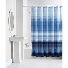 Navy Blue And White Striped Curtains Facts About Shower Curtain Pickndecor Com
