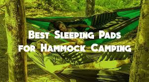 best sleeping pads for hammock camping review 2017 u2014 outdoorkeeper com