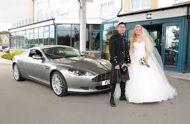 car ribbon tartan ribbon for your wedding car for scottish occasions